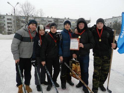 Хоккейные страсти на ледовом корте