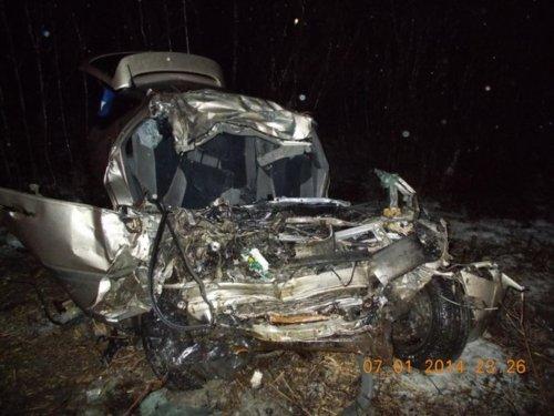 В аварии погибла вся семья