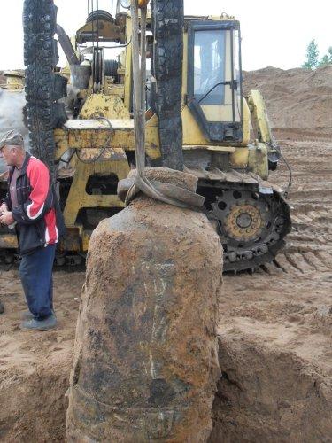 Бомба  весом в одну тонну обезврежена в Хотилове