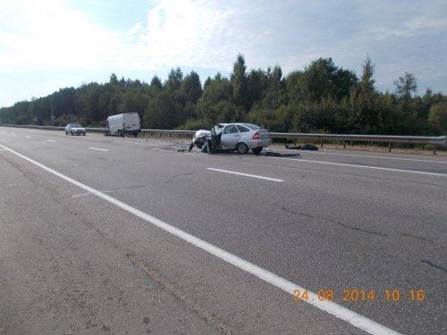 Одна авария - пять пострадавших
