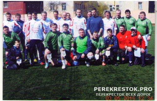 В память о футбольном матче  в осажденном Ленинграде