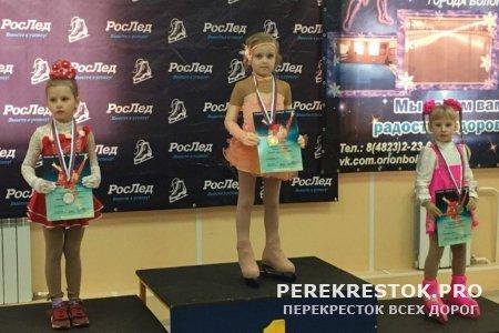 Бологовские фигуристы стали победителями в своих группах