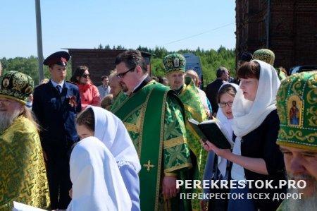 Открытие юбилейного ХХ Большого Волжского Крестного хода