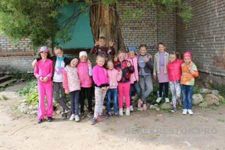 Лето в лагере при школе №10