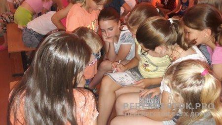 Сотрудники ЛО МВД - в лагере «Радуга»