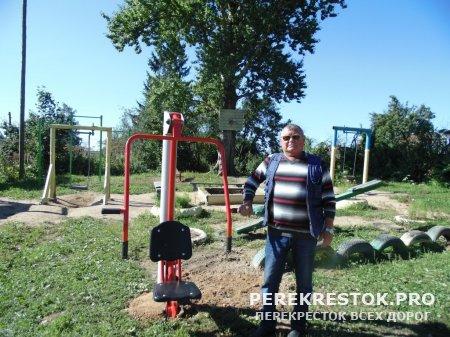 Инициатива на местах, или Как в п. Медведево появилась площадка для детей и молодежи