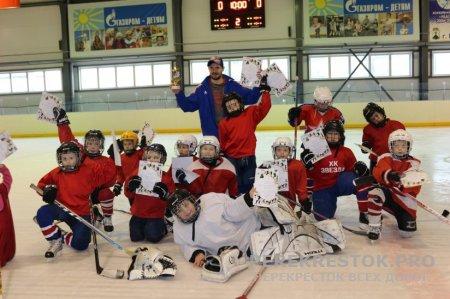 Победа юных хоккеистов