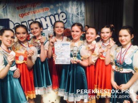 Бологовские танцовщицы блистали