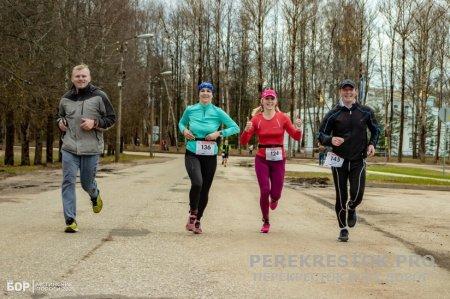 Забег в Новгородской  области
