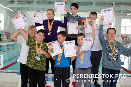 Плавание: чемпионат для людей с ОВЗ