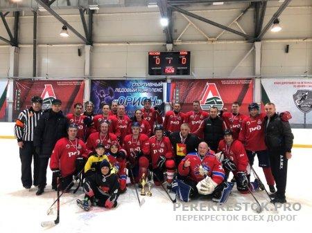 Хоккей: бологовские железнодорожники - бронзовые призеры
