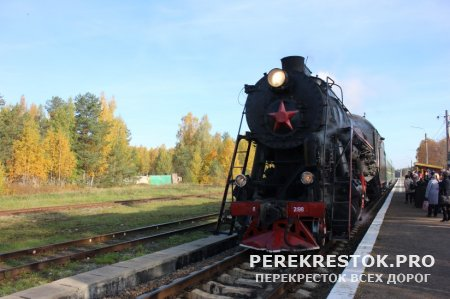 Ретропоезд «Селигер» с новыми вагонами